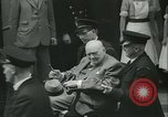 Image of Sir Winston Churchill London England United Kingdom, 1962, second 25 stock footage video 65675063213