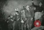 """Image of """"Holing through"""" of tunnel in Mont Blanc Europe, 1962, second 42 stock footage video 65675063219"""