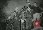 """Image of """"Holing through"""" of tunnel in Mont Blanc Europe, 1962, second 43 stock footage video 65675063219"""