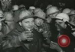 """Image of """"Holing through"""" of tunnel in Mont Blanc Europe, 1962, second 49 stock footage video 65675063219"""