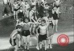 Image of American people during 1937 heat wave United States USA, 1937, second 17 stock footage video 65675063222