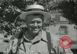 Image of American people during 1937 heat wave United States USA, 1937, second 29 stock footage video 65675063222