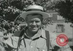 Image of American people during 1937 heat wave United States USA, 1937, second 30 stock footage video 65675063222