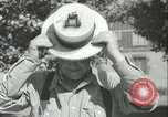 Image of American people during 1937 heat wave United States USA, 1937, second 42 stock footage video 65675063222