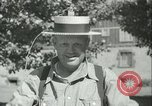 Image of American people during 1937 heat wave United States USA, 1937, second 43 stock footage video 65675063222