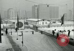 Image of Friedrichstrasse checkpoint of Berlin Wall Berlin Germany, 1961, second 26 stock footage video 65675063223