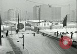 Image of Friedrichstrasse checkpoint of Berlin Wall Berlin Germany, 1961, second 27 stock footage video 65675063223