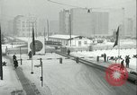 Image of Friedrichstrasse checkpoint of Berlin Wall Berlin Germany, 1961, second 30 stock footage video 65675063223
