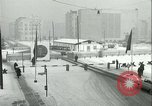 Image of Friedrichstrasse checkpoint of Berlin Wall Berlin Germany, 1961, second 31 stock footage video 65675063223