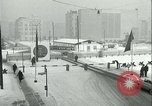 Image of Friedrichstrasse checkpoint of Berlin Wall Berlin Germany, 1961, second 33 stock footage video 65675063223