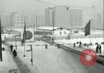 Image of Friedrichstrasse checkpoint of Berlin Wall Berlin Germany, 1961, second 34 stock footage video 65675063223