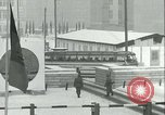 Image of Friedrichstrasse checkpoint of Berlin Wall Berlin Germany, 1961, second 38 stock footage video 65675063223