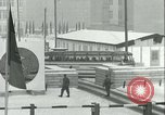 Image of Friedrichstrasse checkpoint of Berlin Wall Berlin Germany, 1961, second 40 stock footage video 65675063223