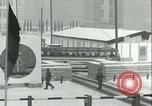 Image of Friedrichstrasse checkpoint of Berlin Wall Berlin Germany, 1961, second 41 stock footage video 65675063223