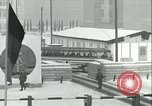 Image of Friedrichstrasse checkpoint of Berlin Wall Berlin Germany, 1961, second 43 stock footage video 65675063223