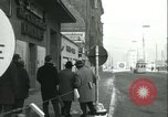 Image of Friedrichstrasse checkpoint Berlin Germany, 1961, second 9 stock footage video 65675063224