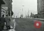 Image of Friedrichstrasse checkpoint Berlin Germany, 1961, second 13 stock footage video 65675063224