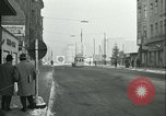 Image of Friedrichstrasse checkpoint Berlin Germany, 1961, second 16 stock footage video 65675063224