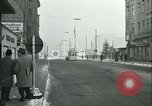 Image of Friedrichstrasse checkpoint Berlin Germany, 1961, second 18 stock footage video 65675063224