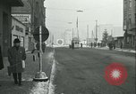 Image of Friedrichstrasse checkpoint Berlin Germany, 1961, second 32 stock footage video 65675063224