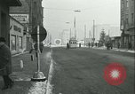 Image of Friedrichstrasse checkpoint Berlin Germany, 1961, second 33 stock footage video 65675063224