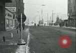 Image of Friedrichstrasse checkpoint Berlin Germany, 1961, second 35 stock footage video 65675063224