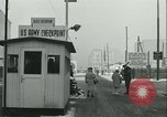 Image of Friedrichstrasse checkpoint Berlin Germany, 1961, second 47 stock footage video 65675063224