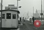 Image of Friedrichstrasse checkpoint Berlin Germany, 1961, second 48 stock footage video 65675063224