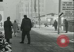 Image of Friedrichstrasse checkpoint Berlin Germany, 1961, second 56 stock footage video 65675063224