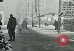 Image of Friedrichstrasse checkpoint Berlin Germany, 1961, second 60 stock footage video 65675063224