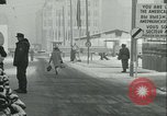 Image of Friedrichstrasse checkpoint Berlin Germany, 1961, second 61 stock footage video 65675063224