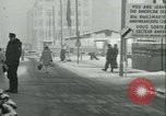 Image of Friedrichstrasse checkpoint Berlin Germany, 1961, second 62 stock footage video 65675063224
