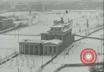 Image of Brandenburg Gate Berlin Germany, 1961, second 2 stock footage video 65675063227