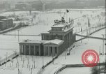 Image of Brandenburg Gate Berlin Germany, 1961, second 6 stock footage video 65675063227