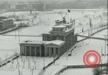 Image of Brandenburg Gate Berlin Germany, 1961, second 7 stock footage video 65675063227
