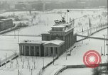 Image of Brandenburg Gate Berlin Germany, 1961, second 8 stock footage video 65675063227