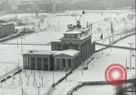 Image of Brandenburg Gate Berlin Germany, 1961, second 10 stock footage video 65675063227