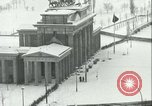 Image of Brandenburg Gate Berlin Germany, 1961, second 32 stock footage video 65675063227