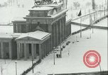 Image of Brandenburg Gate Berlin Germany, 1961, second 33 stock footage video 65675063227