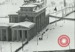 Image of Brandenburg Gate Berlin Germany, 1961, second 34 stock footage video 65675063227