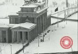Image of Brandenburg Gate Berlin Germany, 1961, second 36 stock footage video 65675063227