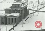 Image of Brandenburg Gate Berlin Germany, 1961, second 37 stock footage video 65675063227