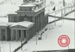 Image of Brandenburg Gate Berlin Germany, 1961, second 40 stock footage video 65675063227