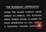 Image of Russian soldiers Eastern Front European Theater, 1943, second 2 stock footage video 65675063231