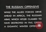 Image of Russian soldiers Eastern Front European Theater, 1943, second 5 stock footage video 65675063231