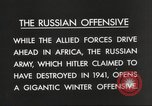 Image of Russian soldiers Eastern Front European Theater, 1943, second 6 stock footage video 65675063231