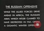 Image of Russian soldiers Eastern Front European Theater, 1943, second 8 stock footage video 65675063231