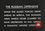 Image of Russian soldiers Eastern Front European Theater, 1943, second 10 stock footage video 65675063231
