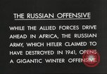 Image of Russian soldiers Eastern Front European Theater, 1943, second 11 stock footage video 65675063231