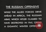 Image of Russian soldiers Eastern Front European Theater, 1943, second 12 stock footage video 65675063231